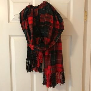 Old Navy Plaid Flannel Scarf